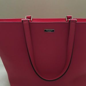 Pink Kate Spade Big Tote Purse
